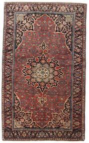 Bidjar Covor 129X212 Orientale Lucrat Manual Roșu-Închis/Maro Închis (Lână, Persia/Iran)