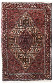 Bidjar Zanjan Covor 113X175 Orientale Lucrat Manual Roșu-Închis/Negru (Lână, Persia/Iran)