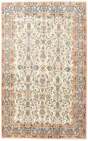 Kerman Covor 145X240 Orientale Lucrat Manual Bej/Bej-Crem (Lână, Persia/Iran)
