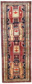 Ardabil Covor 114X307 Orientale Lucrat Manual Roșu-Închis/Gri Închis (Lână, Persia/Iran)