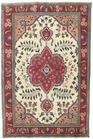 Tabriz Patina Covor 95X145 Orientale Lucrat Manual Bej/Negru (Lână, Persia/Iran)