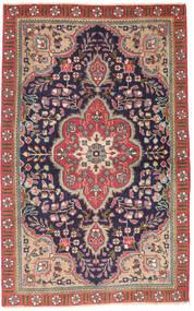 Tabriz Patina Covor 90X140 Orientale Lucrat Manual Gri Închis/Ruginiu (Lână, Persia/Iran)
