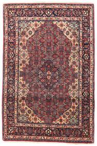 Bidjar Covor 105X155 Orientale Lucrat Manual Mov Închis/Roșu-Închis (Lână, Persia/Iran)