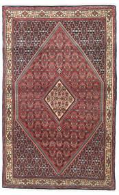 Bidjar Covor 115X185 Orientale Lucrat Manual Roșu-Închis/Maro Închis (Lână, Persia/Iran)