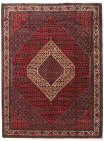 Bidjar Takab/Bukan Covor 260X345 Orientale Lucrat Manual Roșu-Închis/Maro Închis Mare (Lână, Persia/Iran)