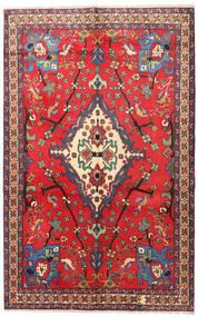 Nahavand Covor 160X253 Orientale Lucrat Manual Roşu/Roșu-Închis (Lână, Persia/Iran)