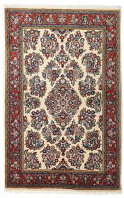 Sarouk Covor 103X163 Orientale Lucrat Manual Negru/Roșu-Închis (Lână, Persia/Iran)