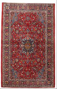 Sarouk Covor 105X165 Orientale Lucrat Manual Roșu-Închis/Maro Închis (Lână, Persia/Iran)