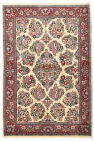 Sarouk Covor 106X160 Orientale Lucrat Manual Gri Închis/Bej Închis (Lână, Persia/Iran)