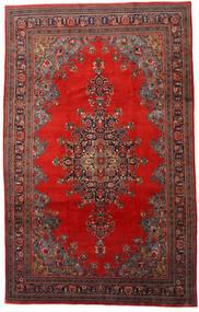 Mahal Covor 220X345 Orientale Lucrat Manual Roșu-Închis/Ruginiu (Lână, Persia/Iran)