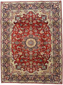 Najafabad Covor 210X280 Orientale Lucrat Manual Roșu-Închis/Maro Închis (Lână, Persia/Iran)