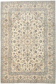 Kashan Covor 260X353 Orientale Lucrat Manual Gri Deschis/Bej Mare (Lână, Persia/Iran)