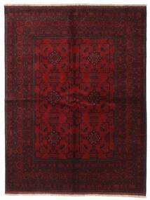 Afghan Khal Mohammadi Covor 172X227 Orientale Lucrat Manual Roșu-Închis/Maro Închis (Lână, Afganistan)