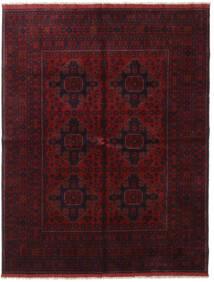 Afghan Khal Mohammadi Covor 166X227 Orientale Lucrat Manual Roșu-Închis (Lână, Afganistan)