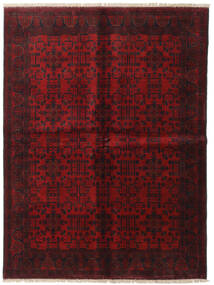 Afghan Khal Mohammadi Covor 173X231 Orientale Lucrat Manual Roșu-Închis/Maro Închis (Lână, Afganistan)