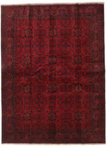 Afghan Khal Mohammadi Covor 173X229 Orientale Lucrat Manual Roșu-Închis/Maro Închis (Lână, Afganistan)