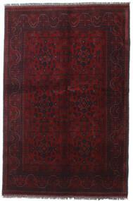 Afghan Khal Mohammadi Covor 130X199 Orientale Lucrat Manual Roșu-Închis (Lână, Afganistan)