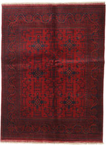 Afghan Khal Mohammadi Covor 147X193 Orientale Lucrat Manual Roșu-Închis (Lână, Afganistan)