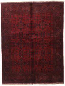 Afghan Khal Mohammadi Covor 151X194 Orientale Lucrat Manual Roșu-Închis/Maro Închis (Lână, Afganistan)