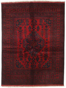 Afghan Khal Mohammadi Covor 151X196 Orientale Lucrat Manual Roșu-Închis/Maro Închis (Lână, Afganistan)