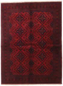 Afghan Khal Mohammadi Covor 149X199 Orientale Lucrat Manual Roșu-Închis (Lână, Afganistan)