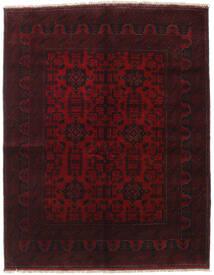 Afghan Khal Mohammadi Covor 154X198 Orientale Lucrat Manual Roșu-Închis (Lână, Afganistan)
