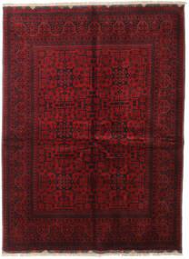 Afghan Khal Mohammadi Covor 153X206 Orientale Lucrat Manual Roșu-Închis/Roşu (Lână, Afganistan)