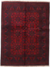 Afghan Khal Mohammadi Covor 152X197 Orientale Lucrat Manual Roșu-Închis (Lână, Afganistan)
