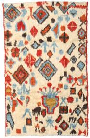 Moroccan Berber - Afganistan Covor 184X294 Modern Lucrat Manual Bej/Roşu (Lână, Afganistan)
