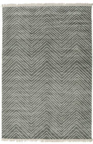 Vanice - Gri Verde Covor 160X230 Modern Lucrat Manual Gri Deschis/Gri Închis ( India)