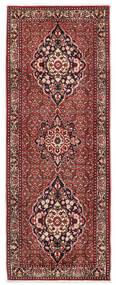 Bidjar Takab/Bukan Covor 80X217 Orientale Lucrat Manual Roșu-Închis/Bej (Lână, Persia/Iran)