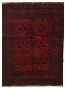 Afghan Khal Mohammadi Covor 146X194 Orientale Lucrat Manual Roșu-Închis (Lână, Afganistan)