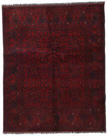 Afghan Khal Mohammadi Covor 153X188 Orientale Lucrat Manual Roșu-Închis (Lână, Afganistan)