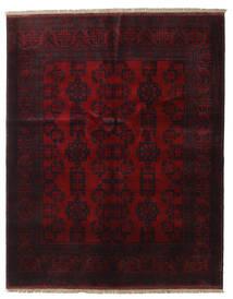 Afghan Khal Mohammadi Covor 151X189 Orientale Lucrat Manual Roșu-Închis (Lână, Afganistan)