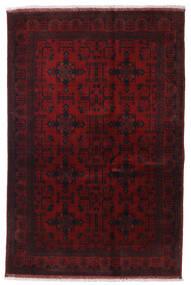 Afghan Khal Mohammadi Covor 129X194 Orientale Lucrat Manual Roșu-Închis (Lână, Afganistan)