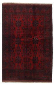 Afghan Khal Mohammadi Covor 131X196 Orientale Lucrat Manual Roșu-Închis (Lână, Afganistan)