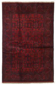 Afghan Khal Mohammadi Covor 125X196 Orientale Lucrat Manual Roșu-Închis (Lână, Afganistan)