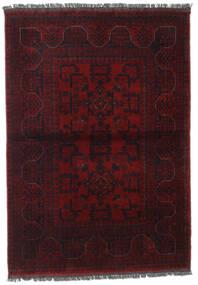 Afghan Khal Mohammadi Covor 106X150 Orientale Lucrat Manual Roșu-Închis (Lână, Afganistan)