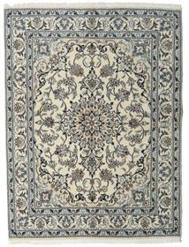 Nain Covor 160X215 Orientale Lucrat Manual Gri Deschis/Gri Închis (Lână, Persia/Iran)