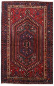 Hamadan Covor 137X217 Orientale Lucrat Manual Roșu-Închis/Maro Închis (Lână, Persia/Iran)
