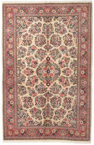 Sarouk Covor 132X213 Orientale Lucrat Manual Gri Închis/Maro (Lână, Persia/Iran)