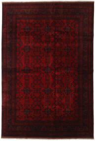 Afghan Khal Mohammadi Covor 198X290 Orientale Lucrat Manual Maro Închis/Roşu (Lână, Afganistan)