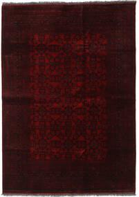 Afghan Khal Mohammadi Covor 205X291 Orientale Lucrat Manual Maro Închis/Roșu-Închis (Lână, Afganistan)
