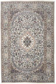 Nain Covor 200X300 Orientale Lucrat Manual Gri Deschis/Bej (Lână, Persia/Iran)