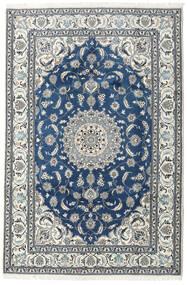 Nain Covor 192X290 Orientale Lucrat Manual Bej/Albastru Închis (Lână, Persia/Iran)