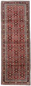 Mahal Covor 107X315 Orientale Lucrat Manual Roșu-Închis/Maro Închis (Lână, Persia/Iran)
