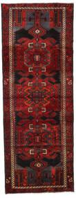 Hamadan Covor 105X282 Orientale Lucrat Manual Roșu-Închis/Maro Închis (Lână, Persia/Iran)