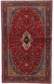 Sarouk Covor 130X208 Orientale Lucrat Manual Roșu-Închis (Lână, Persia/Iran)