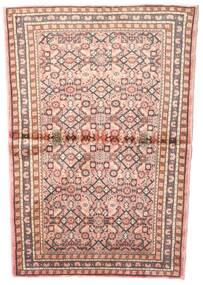 Hosseinabad Covor 102X145 Orientale Lucrat Manual Roz Deschis/Maro Deschis (Lână, Persia/Iran)