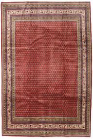 Sarouk Mir Covor 209X314 Orientale Lucrat Manual Roșu-Închis/Maro Închis (Lână, Persia/Iran)